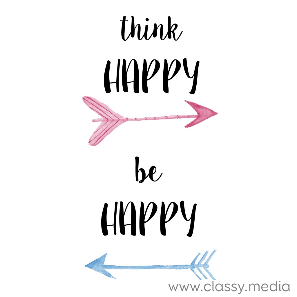 think happy, be happy class media