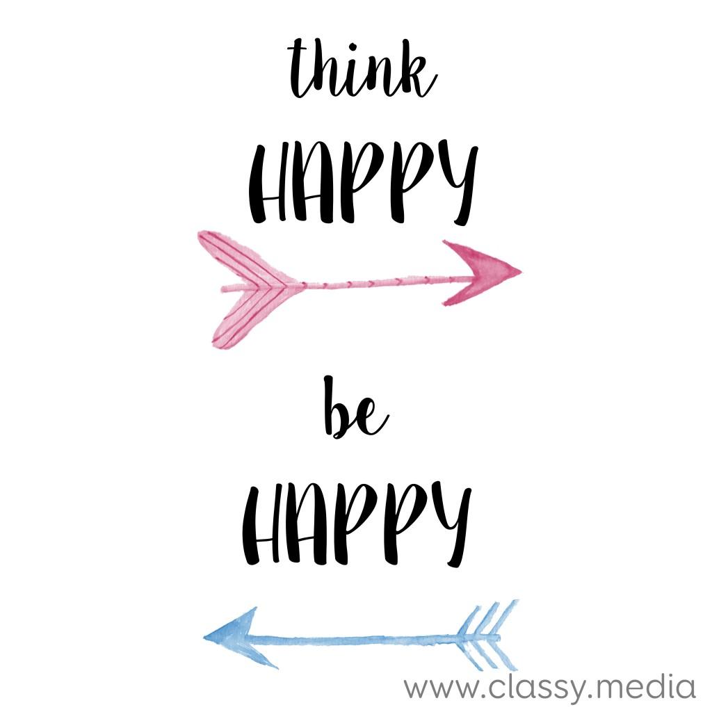 think happy, be happy class media